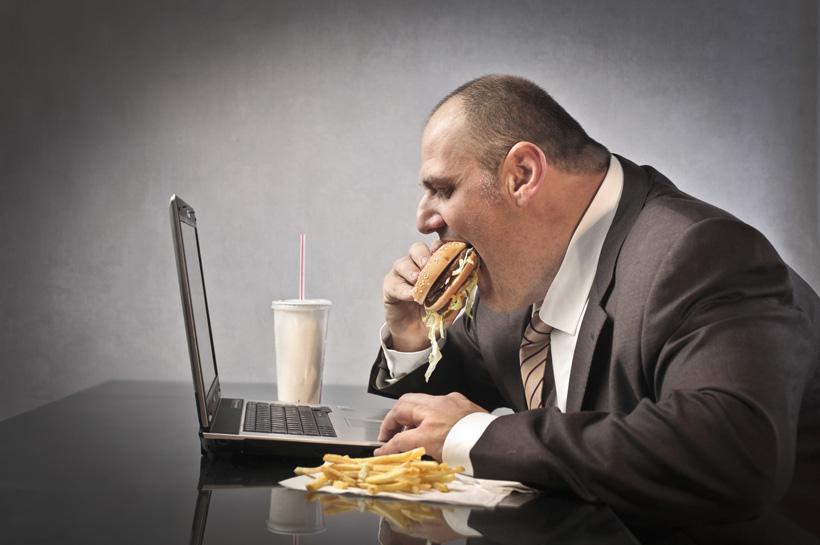 กินอาหาร-fastfood